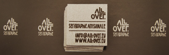 Sérigraphie All-over