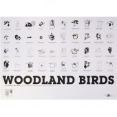 Theme - WOODLAND BIRDS<br/>50,00 &euro;